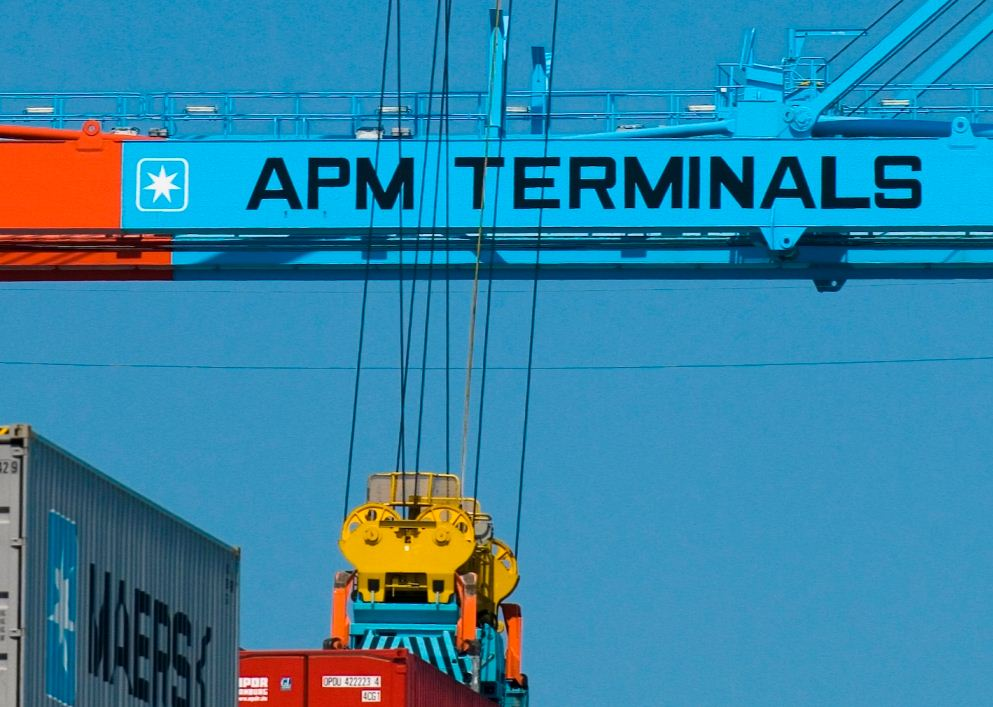 APM Terminals uses drones to improve safety & efficiency